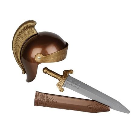 Plastic Romeins speelgoed zwaard (kostuumaccessoires